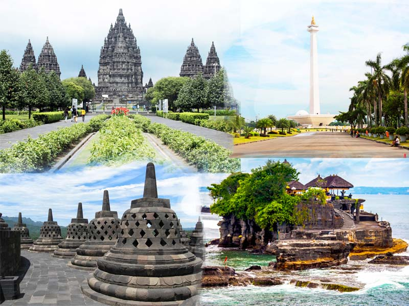 indonesia combination tours