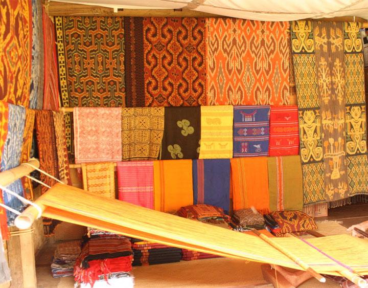 Sa'dan - the weaving center