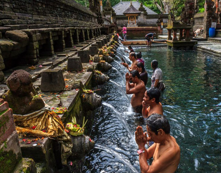 The Holy Spring water temple Tirta Empul.