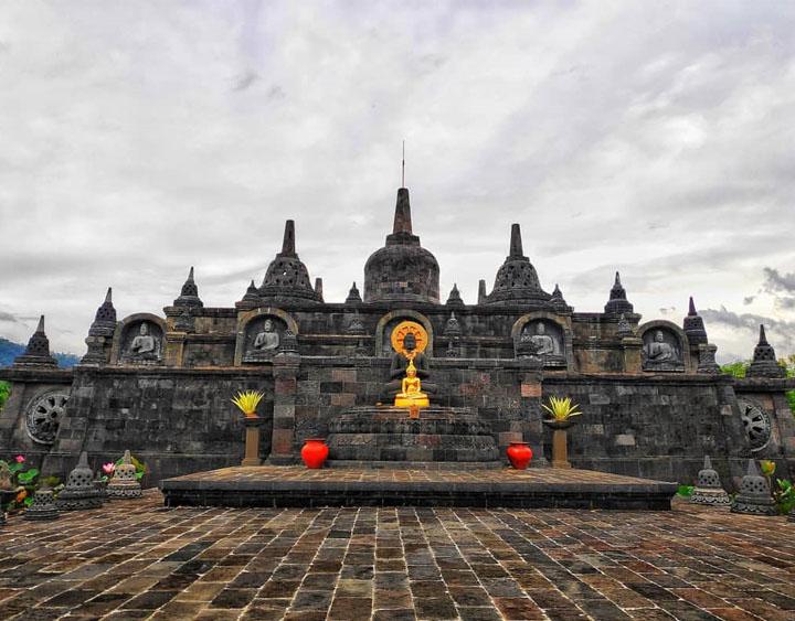 Buddhist monastery of Brahma-Asram Vihara