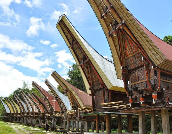 Traditional Torajan Village