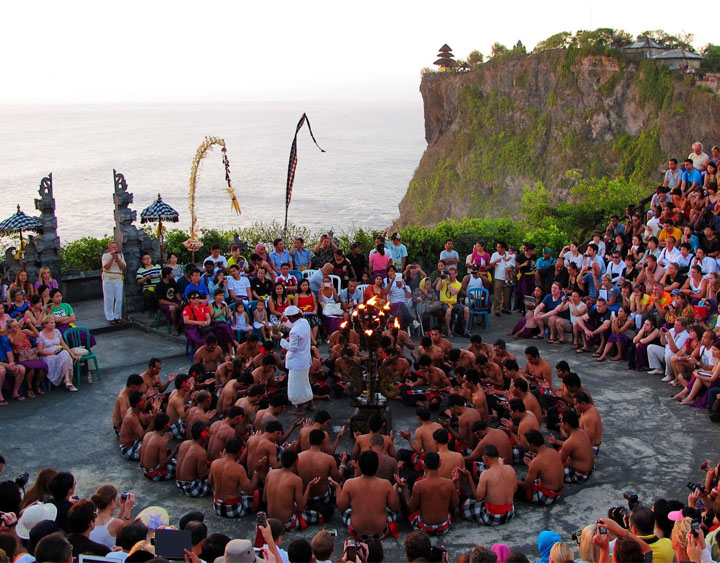 Kecak Dance is a traditional performing dance