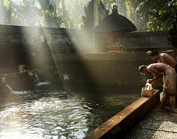 The Holy Spring water Temple Tirta Empul