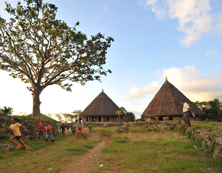 Ruteng Puu - Manggarainese traditional village