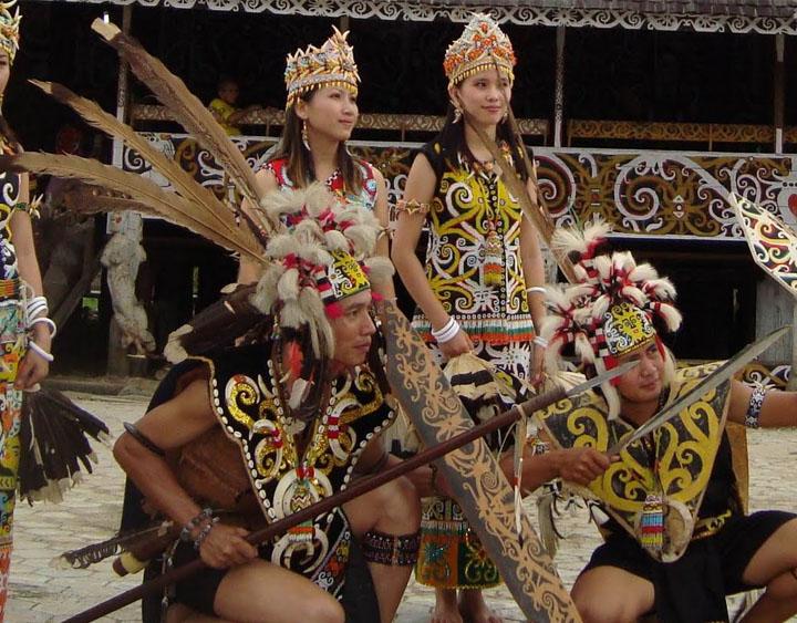 Dayak Culture Performance